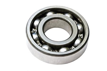 Ball bearing isolated on white background  photo