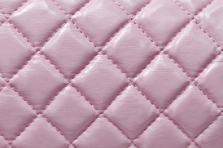 Texture of pink leatherbackground closeup  Stock Photo - 8460228