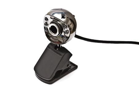 Digital webcam isolated on white background Stock Photo - 8456211