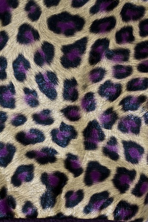 Texture of Leopardskin Pattern fabric background  photo