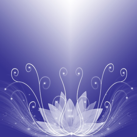 lotus effect: Abstract background of purple dream