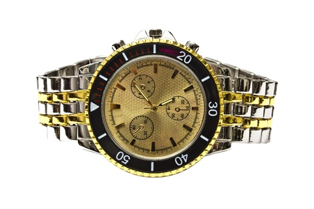 Wristwatch - Isolated on white background  photo