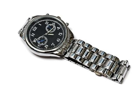 Fashion Wristwatch - Isolated on white background  photo