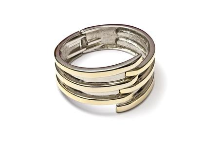 Bracelets: Fashion bracelet isolated on white background