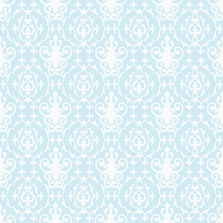 Abstract background of seamless floral pattern   photo