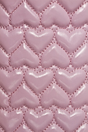 Texture of pink leather background closeup   photo