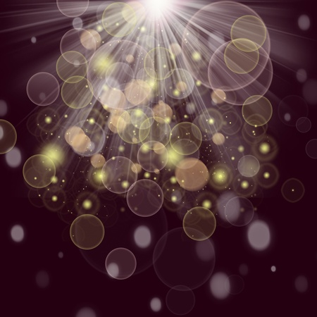 Beautiful and abstract lights background