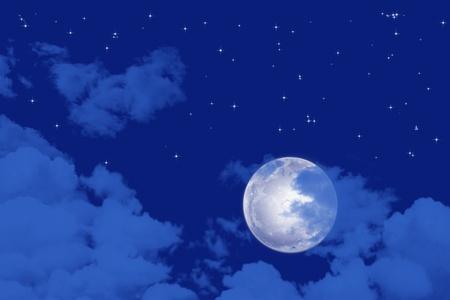 Asbtract and beautiful starry night view   photo