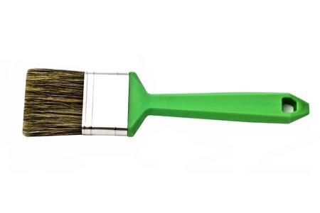 Painting brush isolated on white background photo