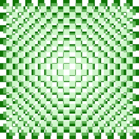 Abstract background of green and white checkered pattern Stock Photo - 9482360