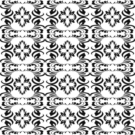 Abstract background of beautiful seamless floral pattern Stock Vector - 9813162