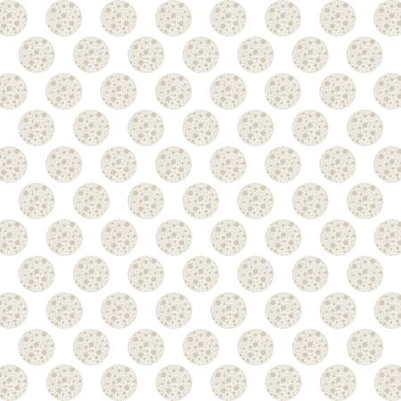 Arrière-plan abstraite du patron sans soudure polka dots