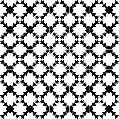 Beautiful background of seamless arrow pattern Vector