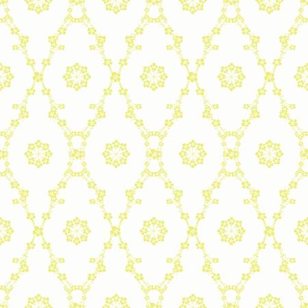 Résumé de fond de la belle floral seamless pattern Vecteurs