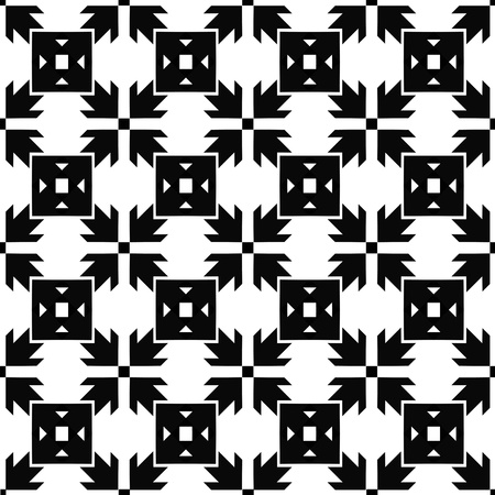 Abstract background of seamless arrow and  checkered pattern   Vector