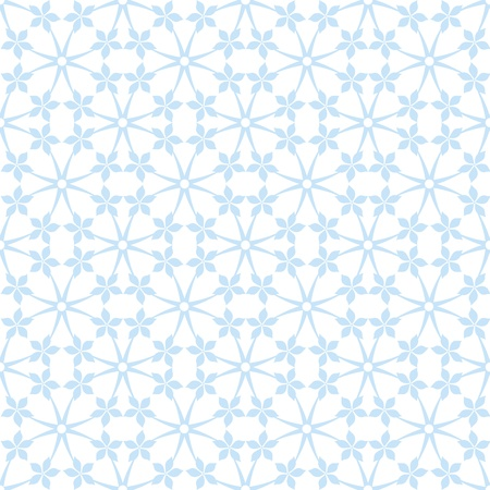 Abstract background of seamless floral and dots pattern Vector