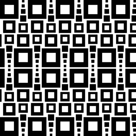 fekete-fehér: Absztrakt háttér zökkenőmentes mintázatot