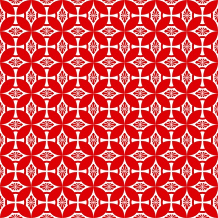 Abstract background of seamless pattern Vector