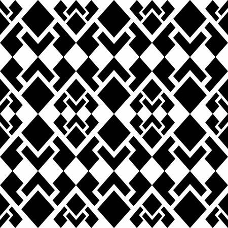 Abstract background of beautiful seamless geometric patterns Illustration