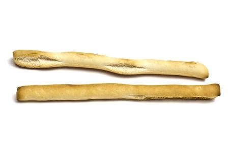 grissini: Grissini - breadsticks isolated on white background
