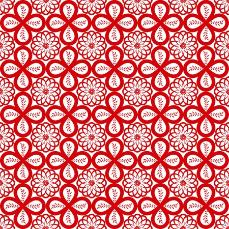 Abstract background of beautiful seamless floral pattern Stock Vector - 10667836