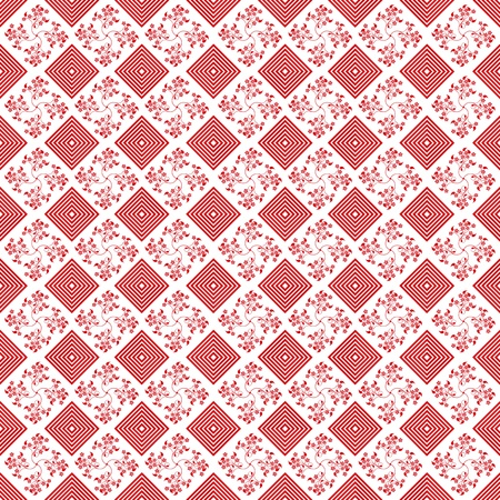 polka dot pattern: Abstract background of beautiful seamless floral pattern