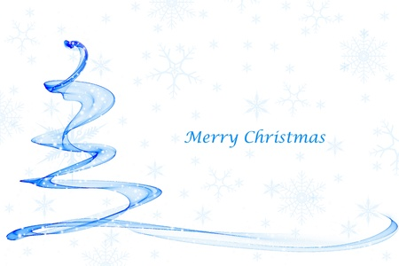 Abstract background of beautiful christmas decoration