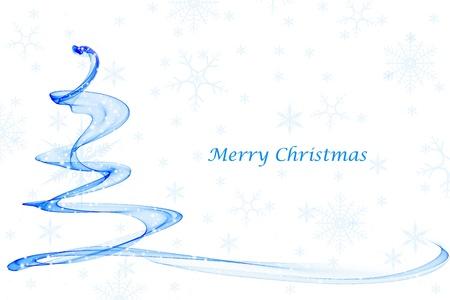 Fondo abstracto de la hermosa decoración de Navidad