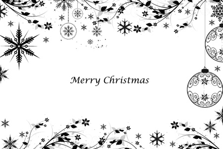 Beautiful Merry Christmas background Stock Vector - 11028529
