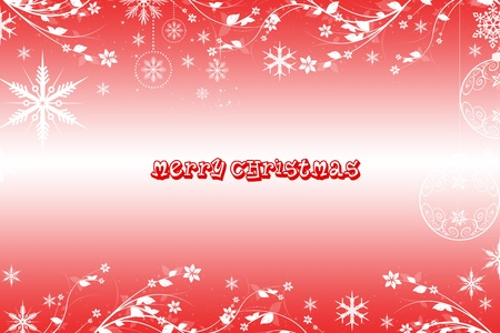 Beautiful Merry Christmas background Vector