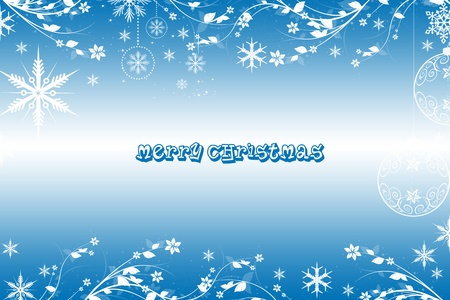 Beautiful Merry Christmas background Stock Vector - 11028527