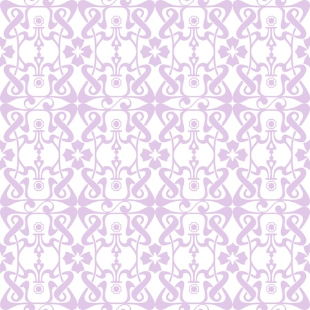 Beautiful and fashion seamless floral pattern background Vector