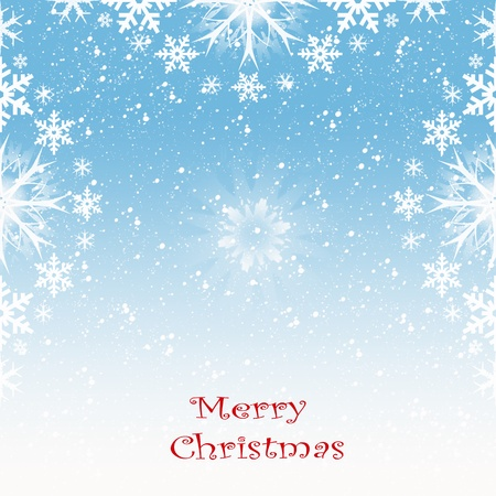 Beautiful background of merry christmas decoration Vector