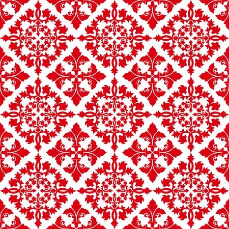 red polka dots: Fondo floral patr�n de belleza y moda