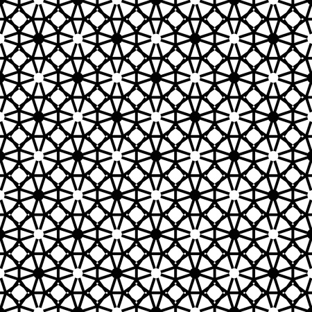 Beautiful background of modern seamless geometric pattern Vector