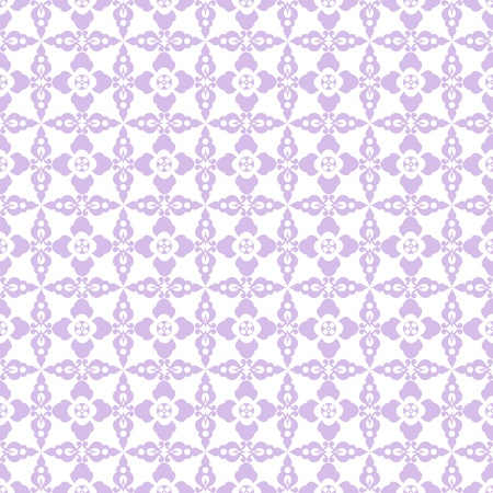 Abstract background of beautiful seamless floral pattern Vector