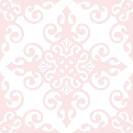 Beautiful background of seamless classic floral pattern Stock Vector - 11384425