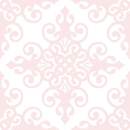 Hermoso fondo de seamless floral clásico