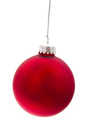 Beautiful christmas decorations isolated on white background 