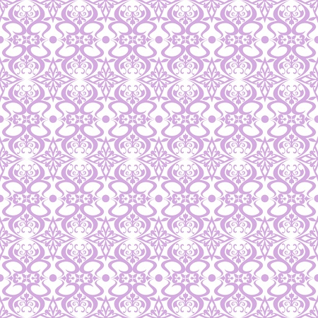 Beautiful and classic seamless floral pattern Vector