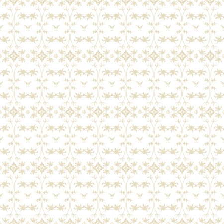 Beautiful background of seamless floral pattern Stock Vector - 11586147