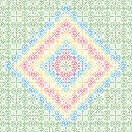 drawings: Beautiful background of seamless floral pattern