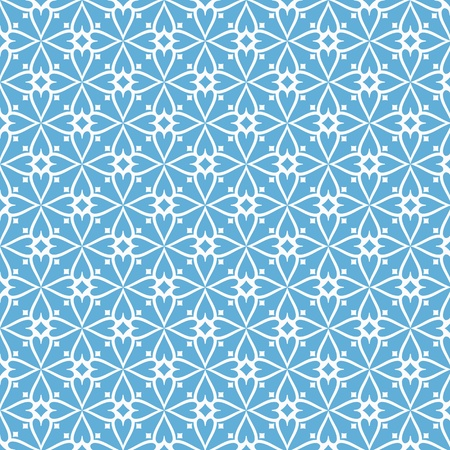 Beautiful background of seamless floral pattern Vector