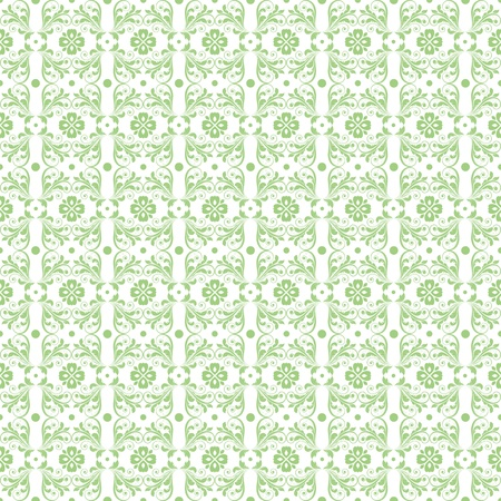 Beautiful background of seamless floral pattern Stock Vector - 12085257