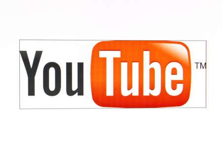 youtube: You Tube logo Editorial