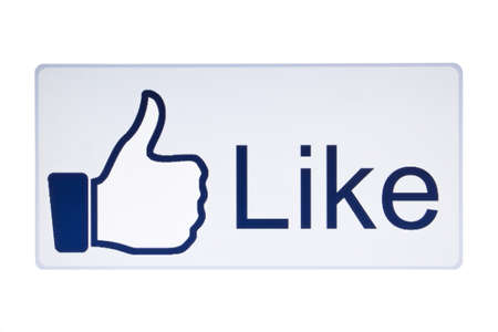 like hand: Facebook Like button