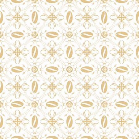 Beautiful background of seamless floral patten Stock Vector - 12337030