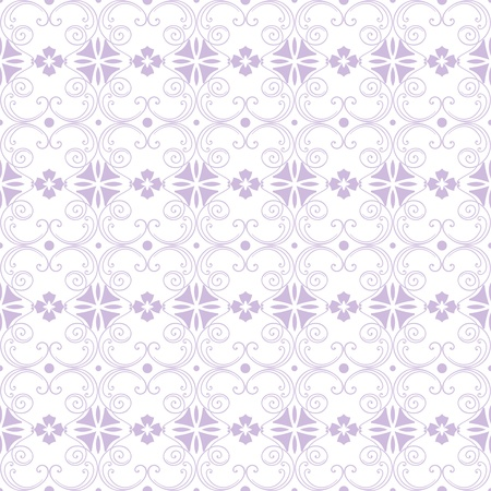 Beautiful background of seamless floral pattern Stock Vector - 12337073