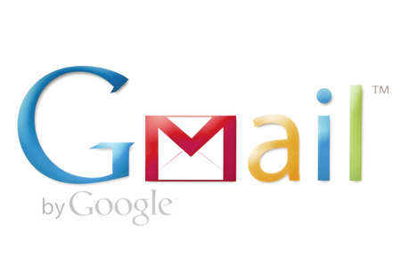 Gmail logo displayed on a computer screen Stock Photo - 12272830