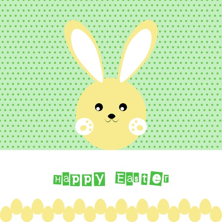 Beautiful background of happy easter Stock Vector - 12489572